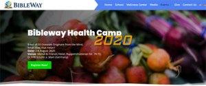 Veranstaltung Bibleway Health Camp 2020