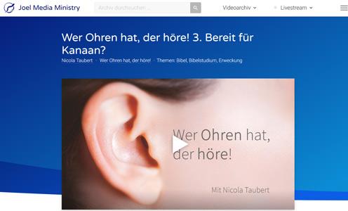 Wer Ohren hat, der höre - N. Taubert