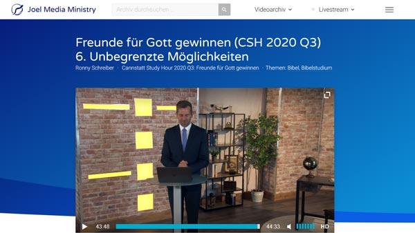 zum Video/Vortrag Ronny Schreiber - Talente & Gaben
