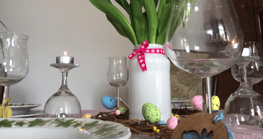 #Gastbeitrag | Bunter Osterkranz – ganz einfach selbst gemacht