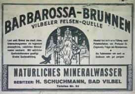 Barbarossa Brunnen Etikett