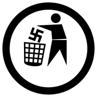 DC-Cartoon-Germany-Nazi-Symbol-Garbage