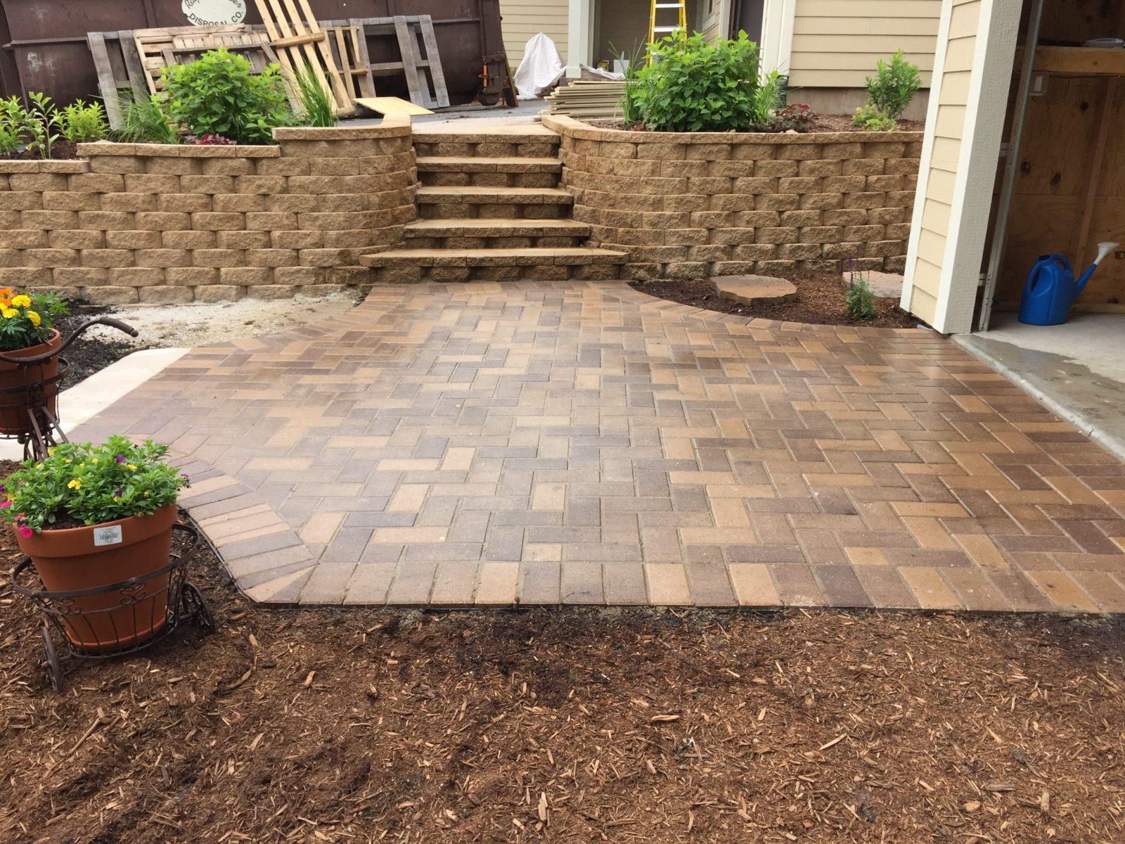 Brick Pavers | Driveways | Patios | Walkways | Landcare ... on Brick Paver Patio Designs  id=73544