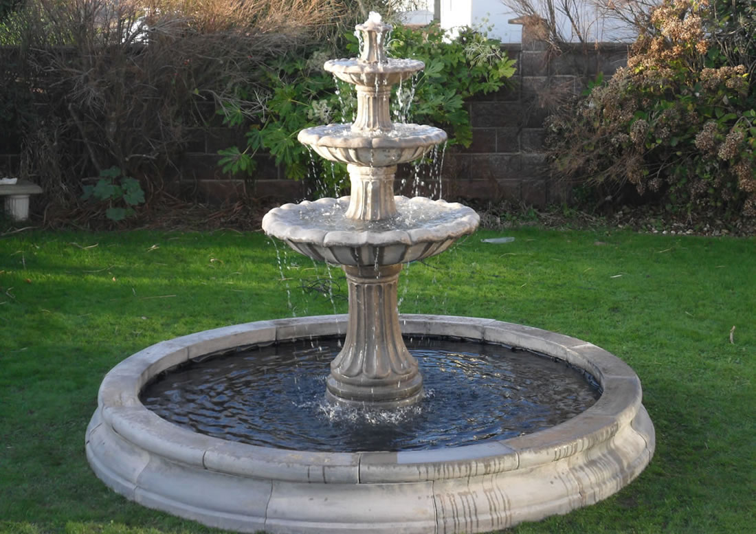 Little Known Benefits to Installing a Water Fountain in ... on Home Garden Fountain Design id=76941