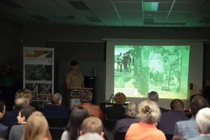 Rick Dawson giving presentation