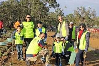 SJ Bahai Community at the Landcare Sj National Tree Day Celebration