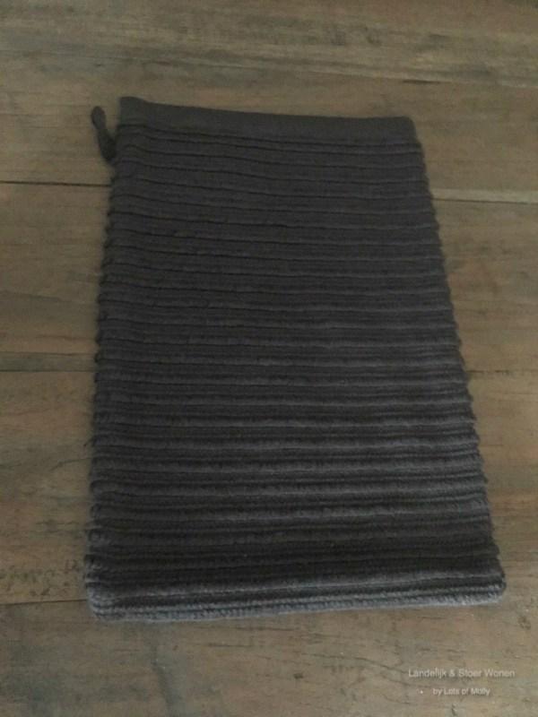 Washand donker grijs