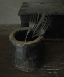 Taartvorkjes zwart
