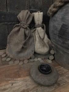 Handgemaakt zakje van de Meidenmuts