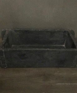 Oude bakstenen mal antique black van Aura Peeperkorn