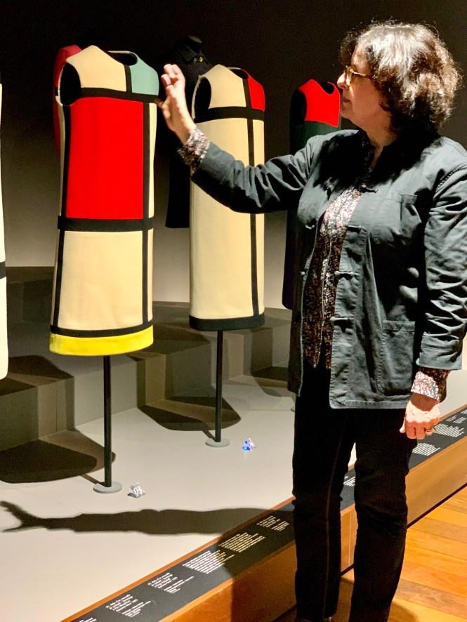 Musée Yves Saint Laurent Mondrain Dresses