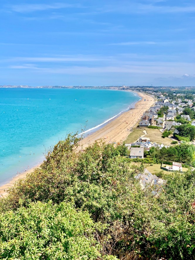 Carolles Normandy Beach