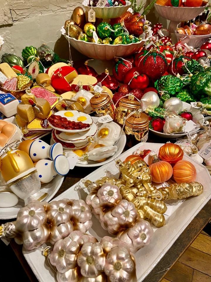 Astier de Villatte Food Ornaments