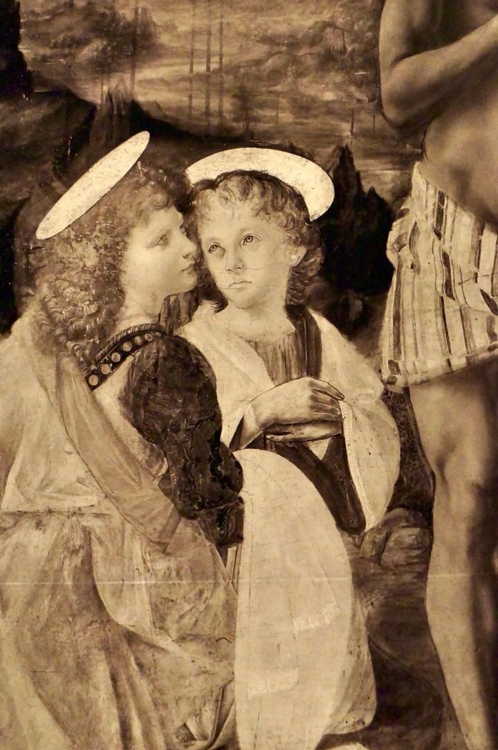 Da Vinci Louvre Close Up