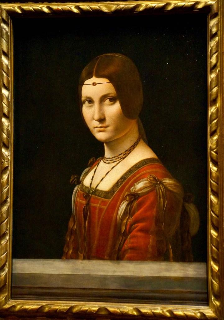 Da Vinci La Belle Ferronnière
