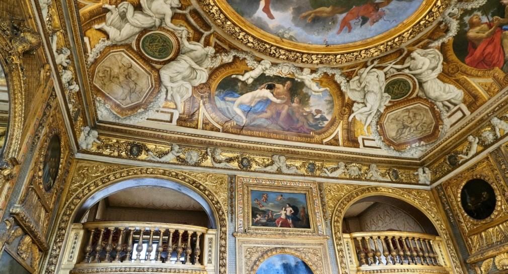 Hôtel de Lauzun Music Room ceiling