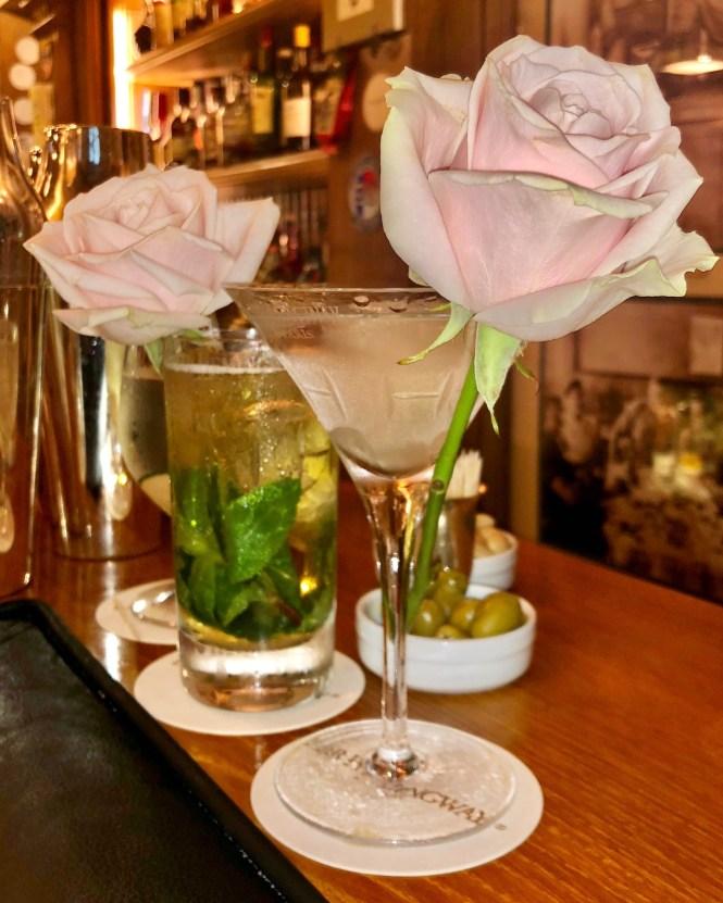 Valentine's Day in Paris cocktails at Bar Hemingway