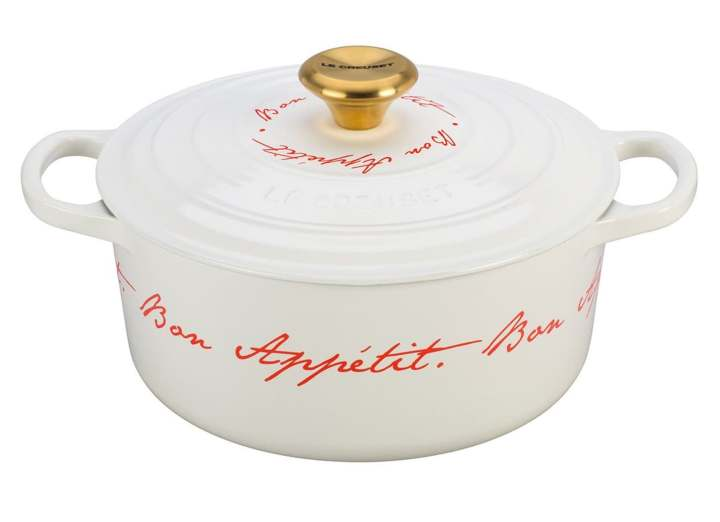 Valentine's Day Gift Ideas for Francophiles Le Creuset Bon Appetit Dutch Oven