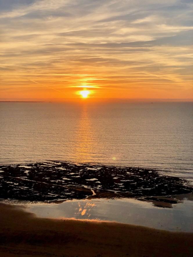 Carolles Normandy Sunset
