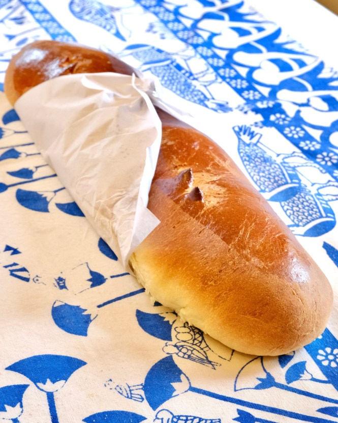 Gâche bread in Normandy