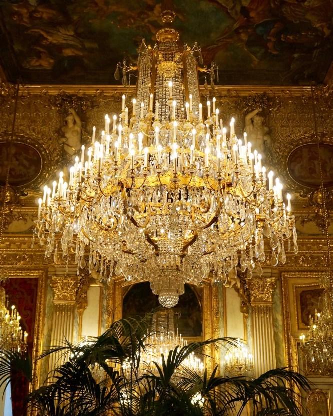 Chandelier Napoleon III Apartments