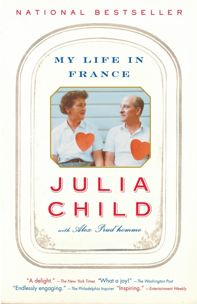 Best books about France Julia Child