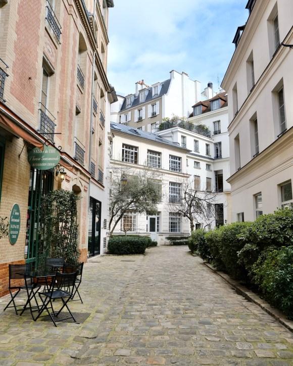 Paris during the travel ban