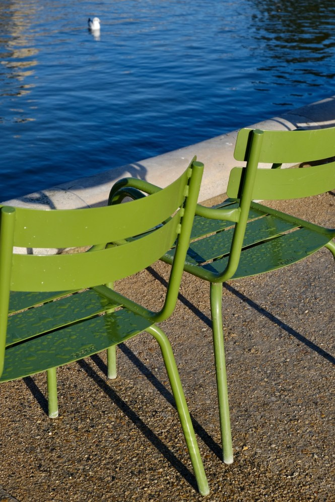 Bespoke Travel Planning France Tuileries Chairs