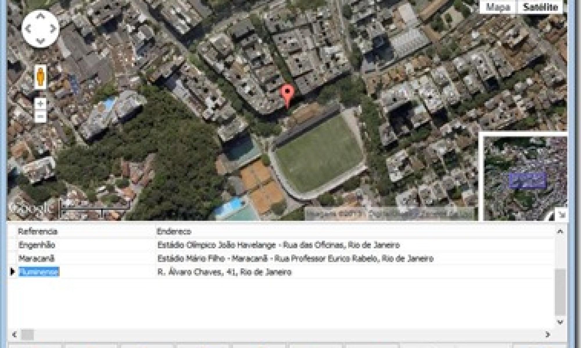 Aplicação Delphi acessando Google Maps