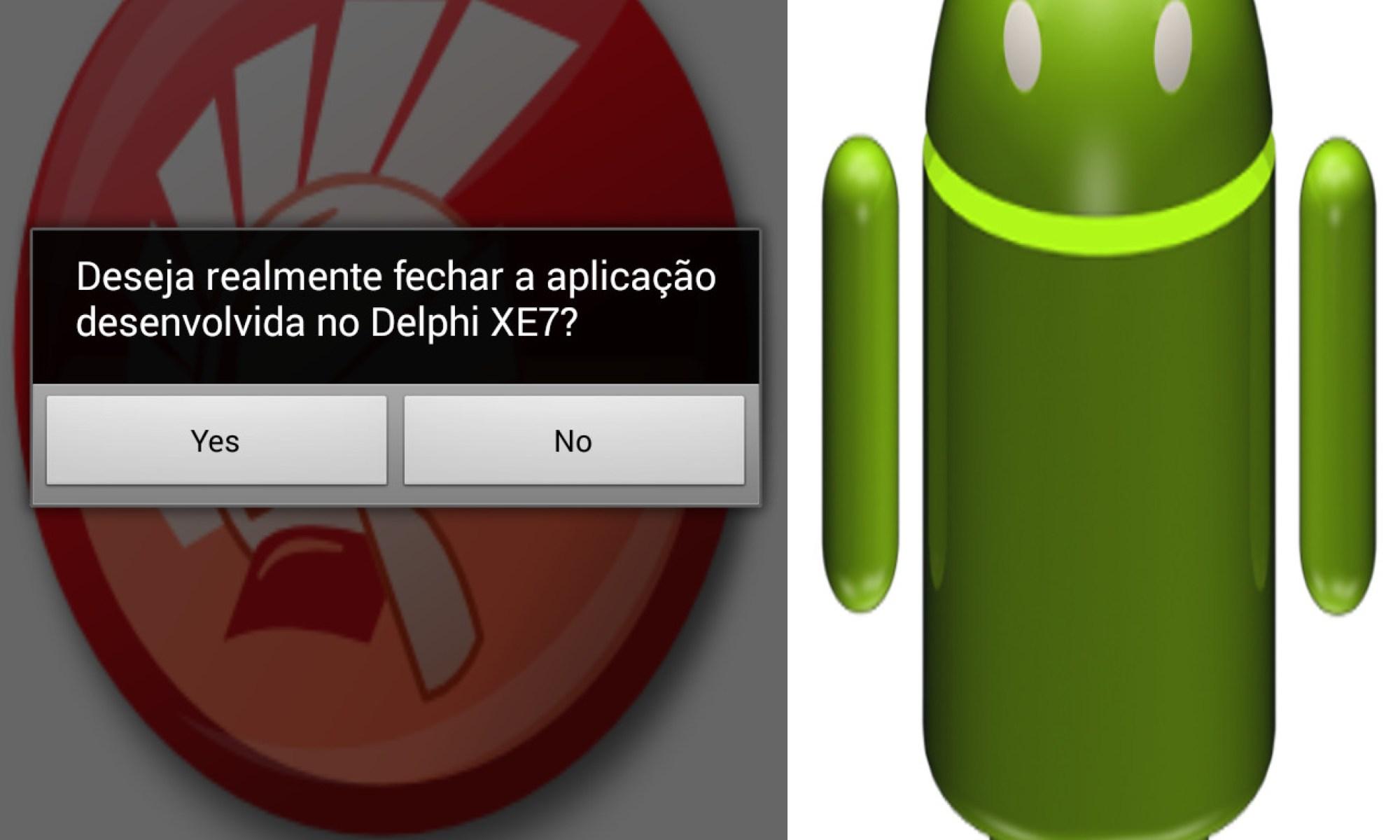 Controlando Botão de Hardware do Android com Delphi XE7
