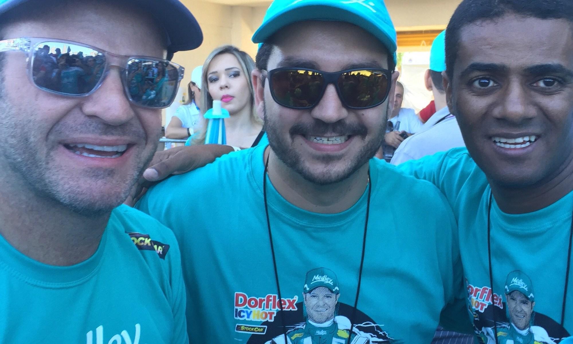 Rubinho Barrichelo, Celso e Eu