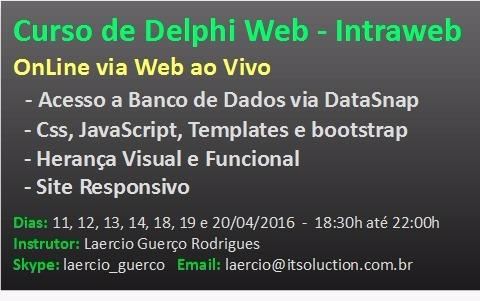 Curso Delphi Web - ITSoluction