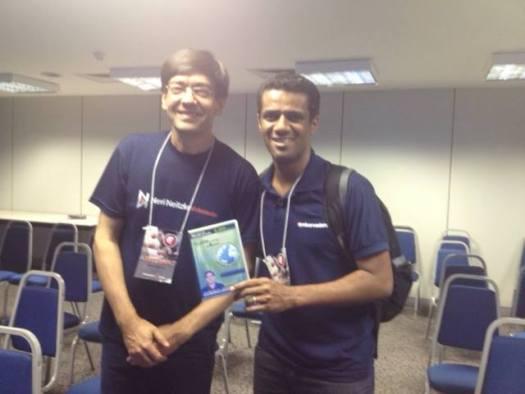 Prof. Neri e Landerson Gomes