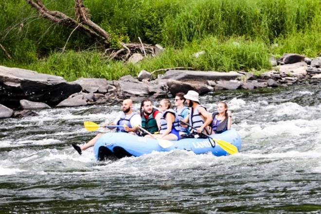 rafting delaware river