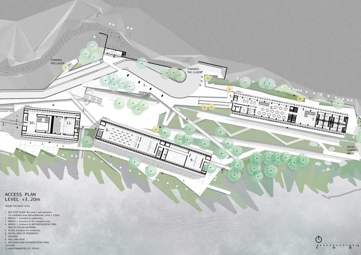 Three Projects For Machu Picchu By Llonazamora Landscape
