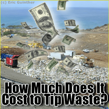 How much does it cost to tip waste