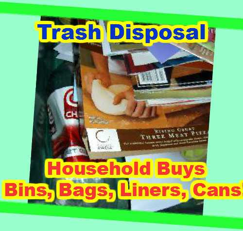 Trash disposal - Household products level