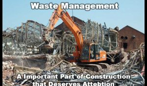 demolition site construction waste managementsite
