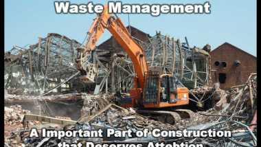 demolition site construction waste managementsite