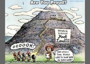 landfill sanitary cartoon