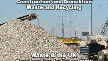 Waste and recycling in the Construction industry