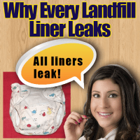 why every landfill liner leaks