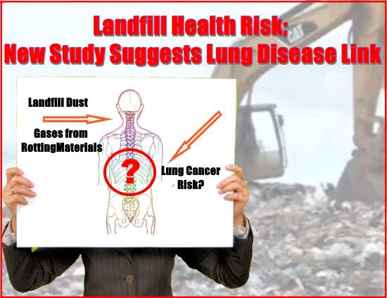 New Study On Health Risks Of >> Landfill Health Risk New Study Suggests Lung Disease Link