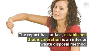 Image showing the Disadvantages of Burning Waste vs Anaerobic Digestion.