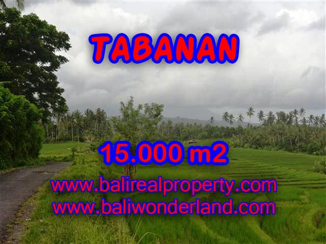 Land for sale in Tabanan Bali, Magnificent view in Tabanan soka – TJTB094