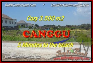 FOR SALE 3.500 m2 LAND IN Canggu Kayutulang BALI TJCG165