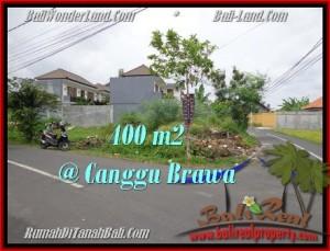 FOR SALE Exotic 400 m2 LAND IN Canggu Brawa BALI TJCG175