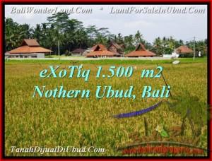 Beautiful PROPERTY 1,500 m2 LAND FOR SALE IN Sentral Ubud TJUB488