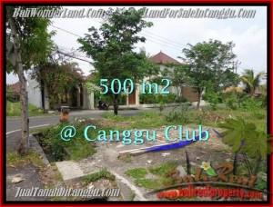 Affordable CANGGU 500 m2 LAND FOR SALE TJCG176