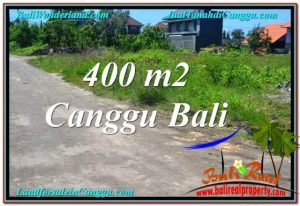 Beautiful 400 m2 LAND IN CANGGU BALI FOR SALE TJCG202